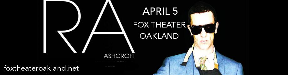 Richard Ashcroft at Fox Theater Oakland