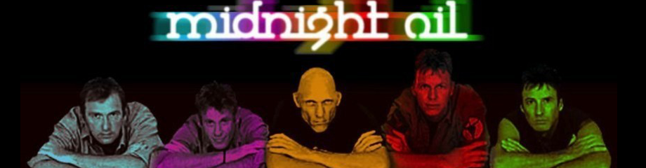 Midnight Oil at Fox Theater Oakland