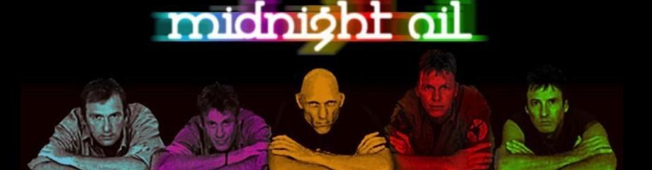 Midnight Oil at Fox Theater Oakland