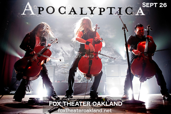 Apocalyptica at Fox Theater Oakland