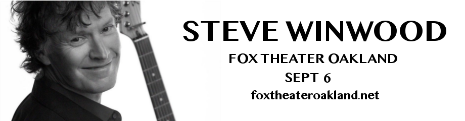 Steve Winwood at Fox Theater Oakland
