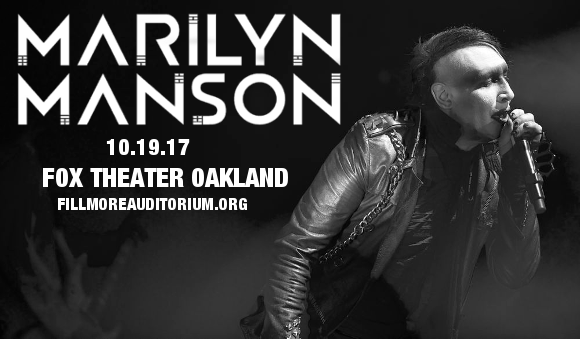 Marilyn Manson at Fox Theater Oakland