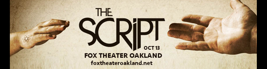 The Script at Fox Theater Oakland