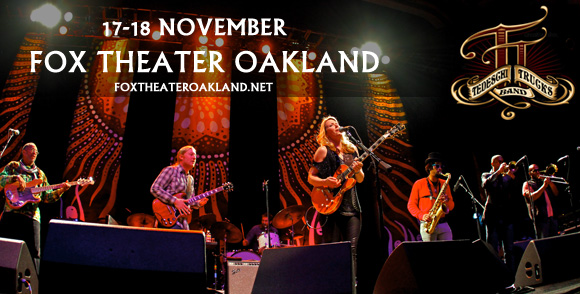 Tedeschi Trucks Band at Fox Theater Oakland