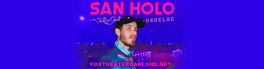 San Holo at Fox Theater Oakland