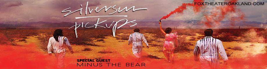 Silversun Pickups & Minus The Bear at Fox Theater Oakland