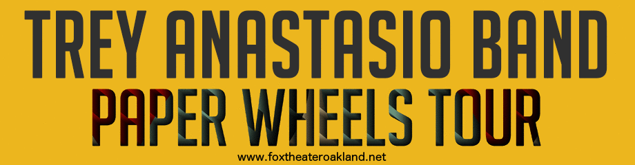 Trey Anastasio at Fox Theater Oakland