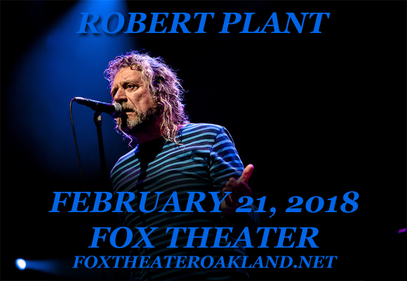 Robert Plant at Fox Theater Oakland