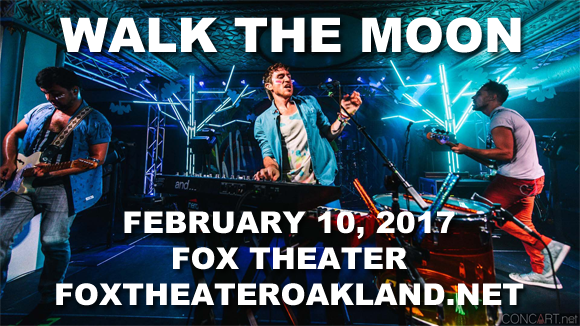 Walk The Moon at Fox Theater Oakland