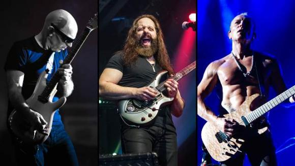Joe Satriani, John Petrucci & Phil Collen at Fox Theater Oakland