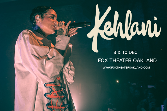 Kehlani at Fox Theater Oakland