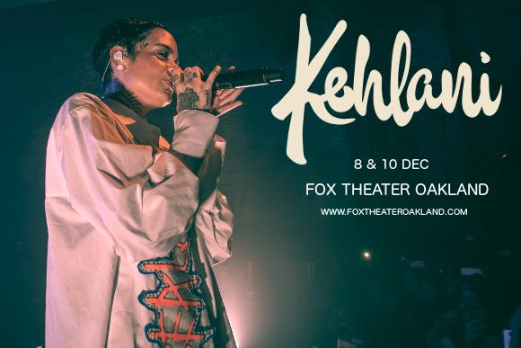 Kehlani at Fox Theater Oakland
