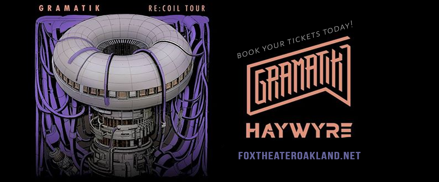 Gramatik at Fox Theater Oakland