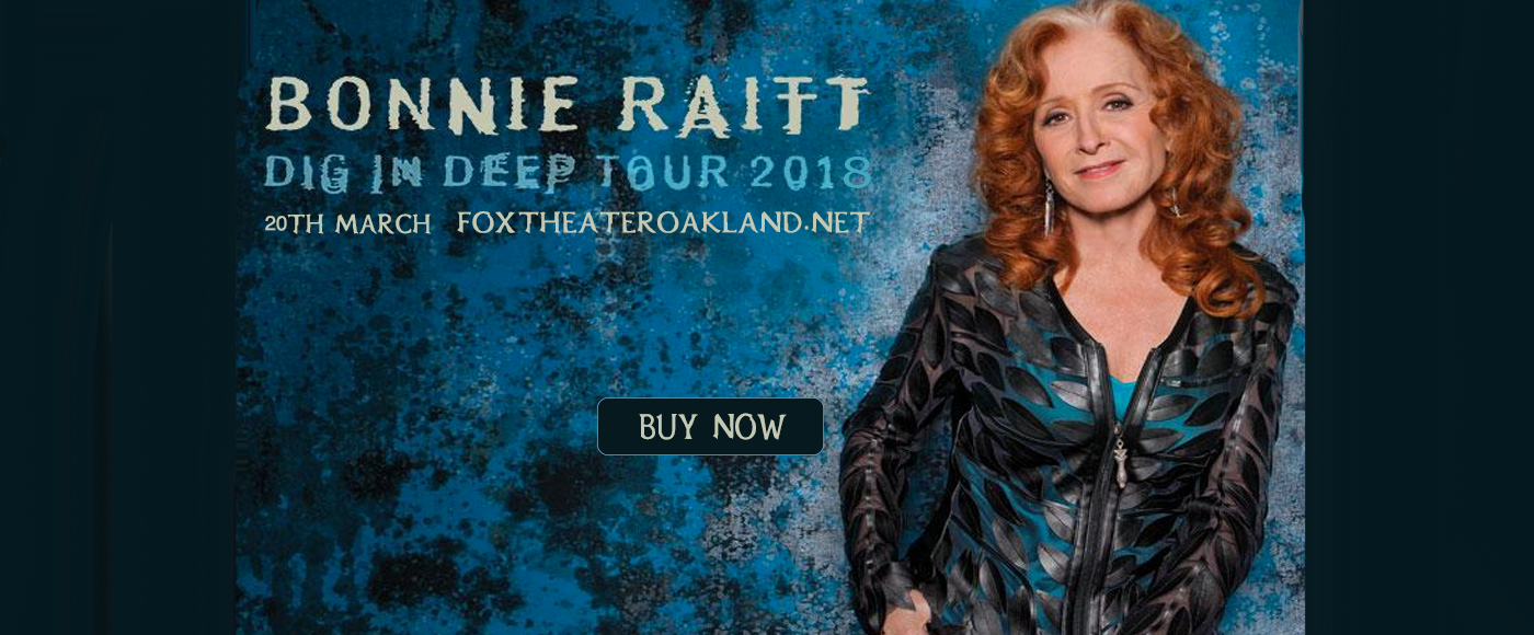 Bonnie Raitt at Fox Theater Oakland