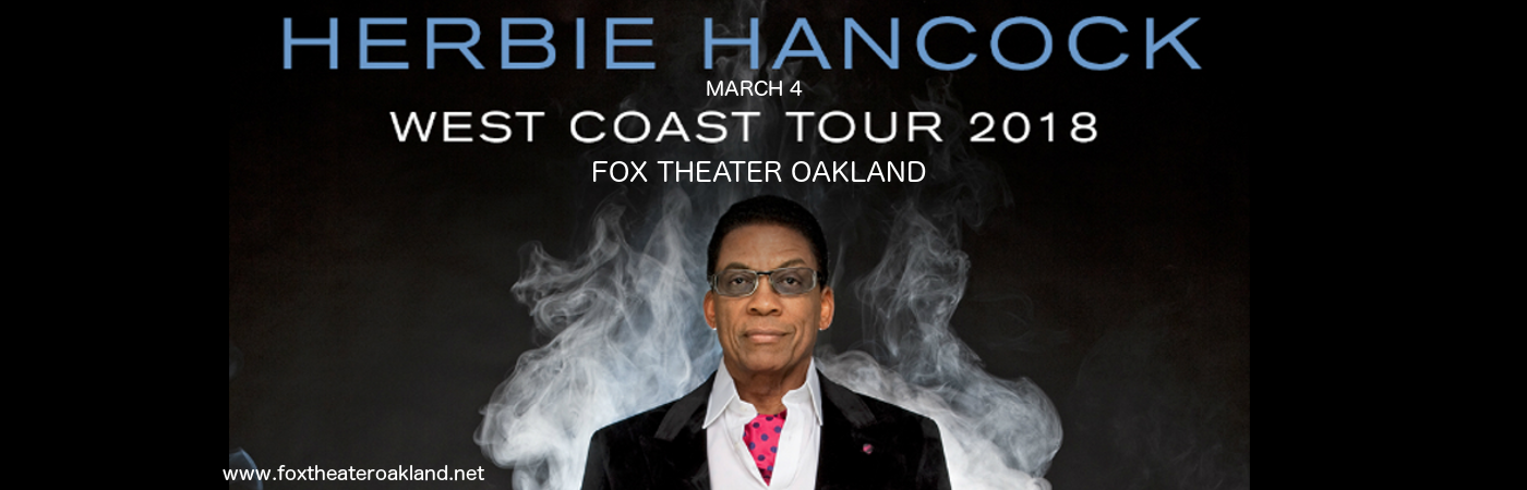 Herbie Hancock at Fox Theater Oakland