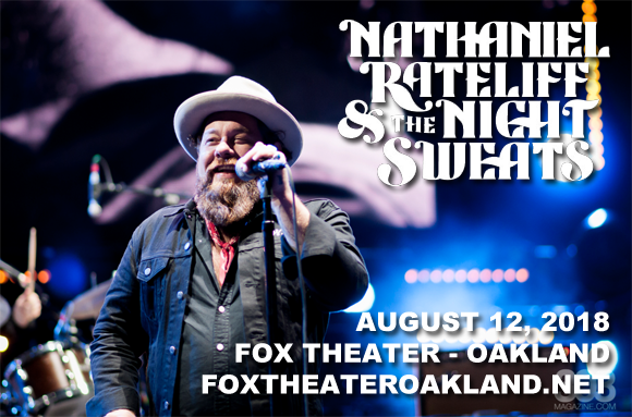 Nathaniel Rateliff and The Night Sweats at Fox Theater Oakland