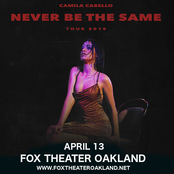 Camila Cabello at Fox Theater Oakland