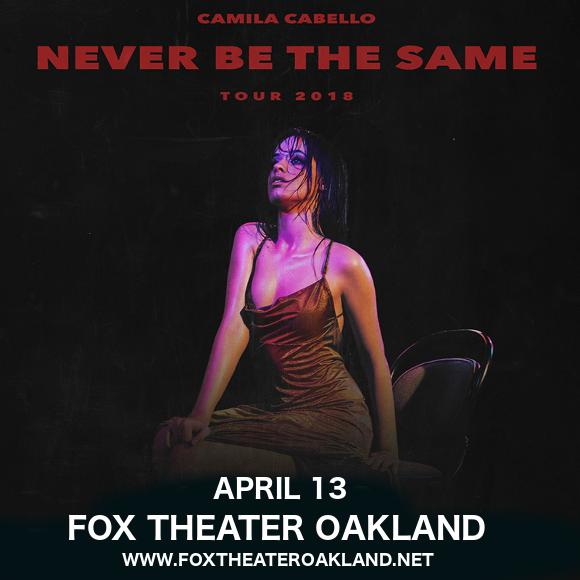 Camila Cabello at Fox Theater Oakland
