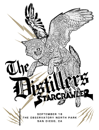 The Distillers & Starcrawler  at Fox Theater Oakland