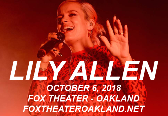Lily Allen at Fox Theater Oakland