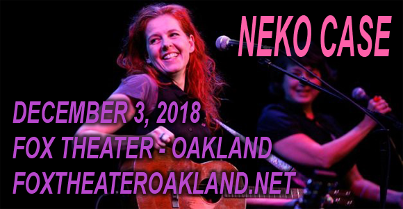 Neko Case at Fox Theater Oakland