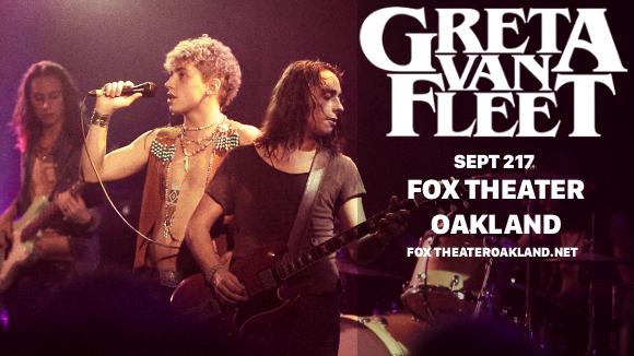 Greta Van Fleet at Fox Theater Oakland