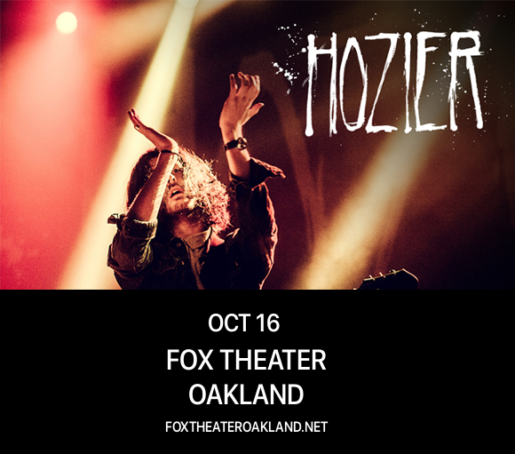Hozier at Fox Theater Oakland