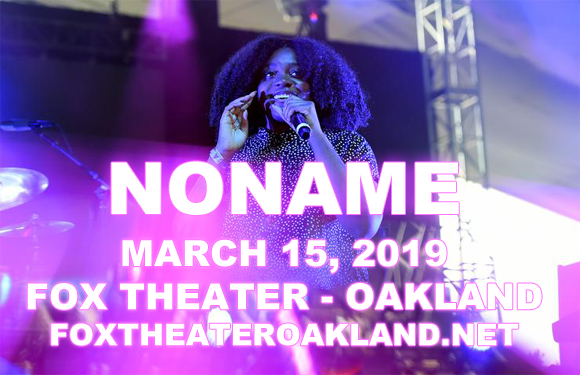 Noname at Fox Theater Oakland
