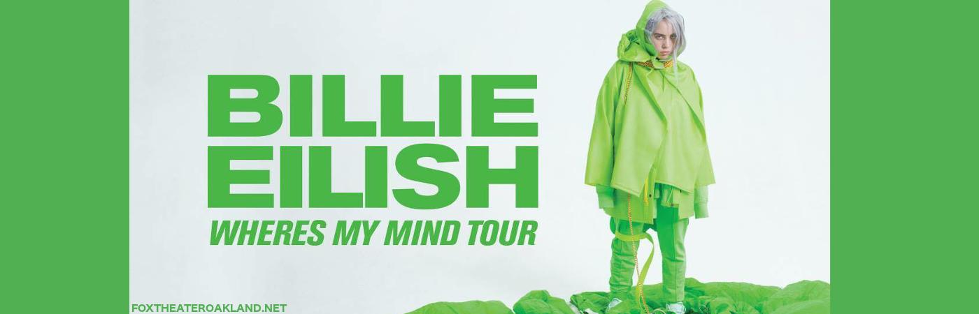 Billie Eilish at Fox Theater Oakland