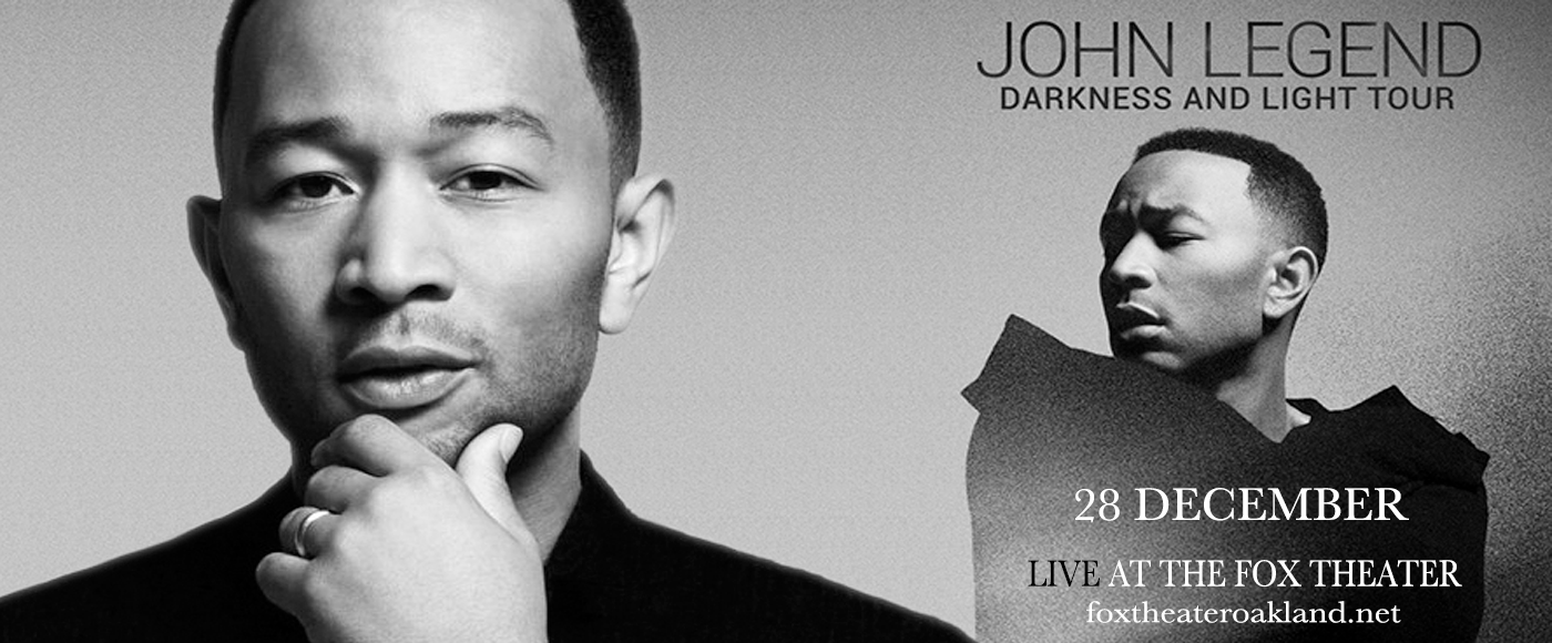 John Legend at Fox Theater Oakland