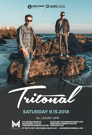 Tritonal at Fox Theater Oakland