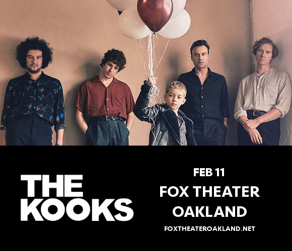 The Kooks at Fox Theater Oakland