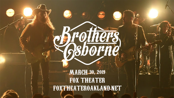 Brothers Osborne at Fox Theater Oakland