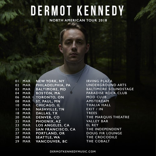 Dermot Kennedy at Fox Theater Oakland
