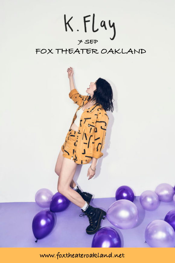 K. Flay at Fox Theater Oakland