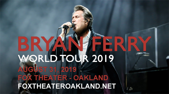 Bryan Ferry at Fox Theater Oakland