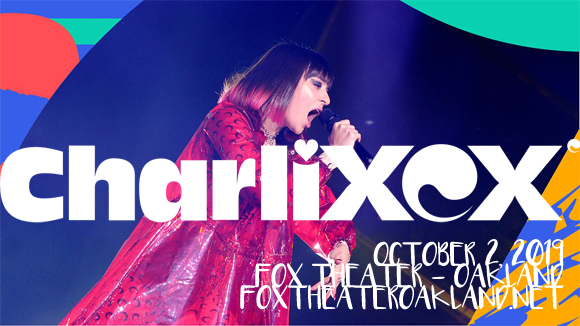 Charli XCX at Fox Theater Oakland