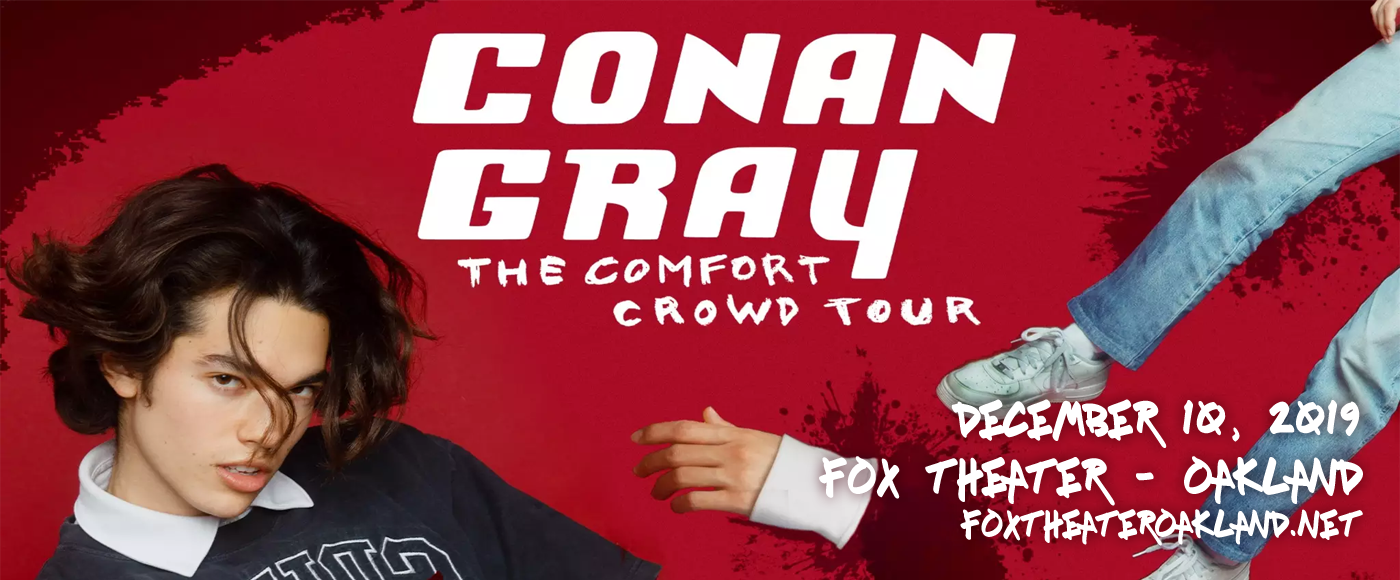 Conan Gray at Fox Theater Oakland