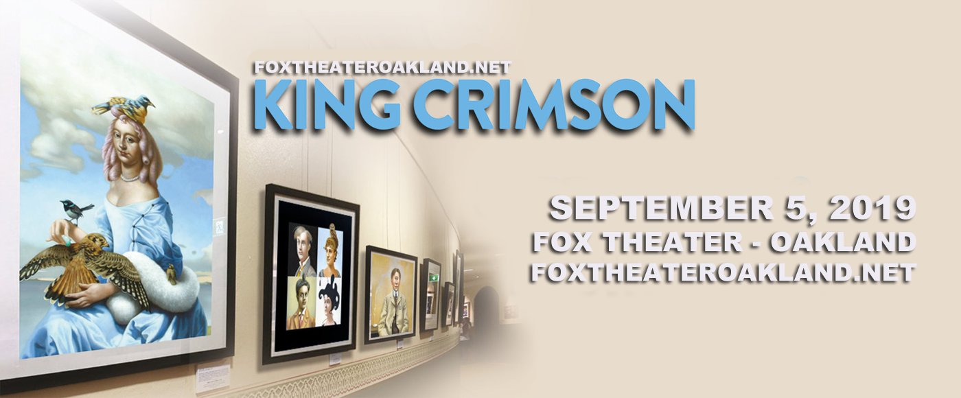 King Crimson at Fox Theater Oakland