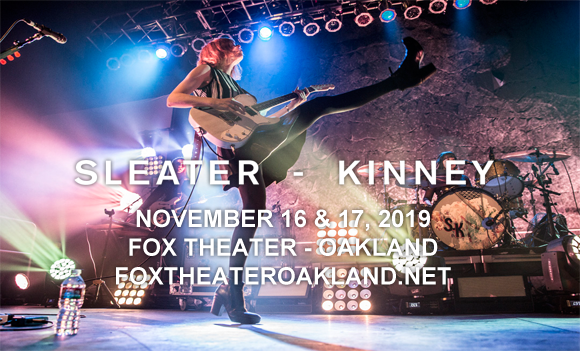 Sleater-Kinney at Fox Theater Oakland