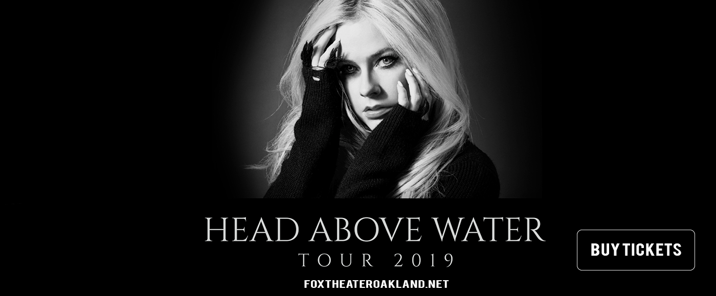 Avril Lavigne at Fox Theater Oakland
