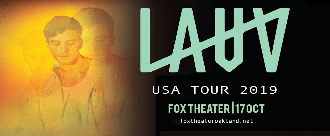 Lauv at Fox Theater Oakland