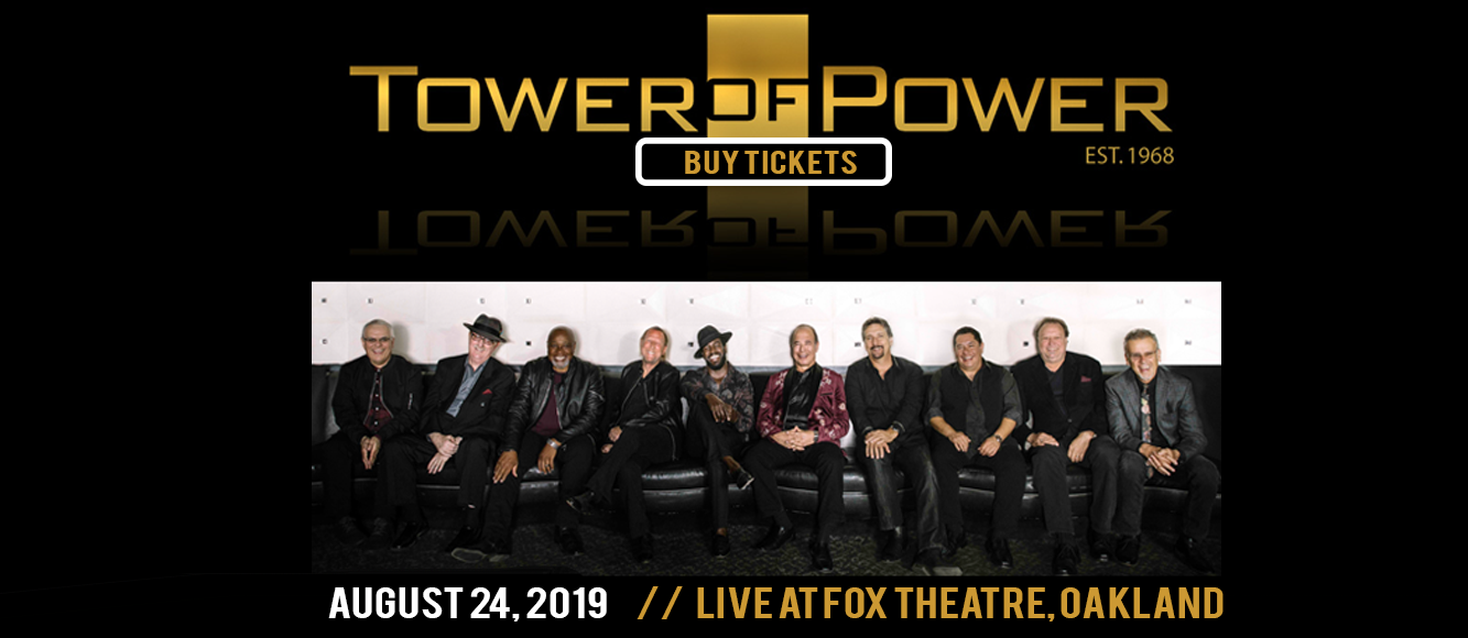 Tower of Power at Fox Theater Oakland
