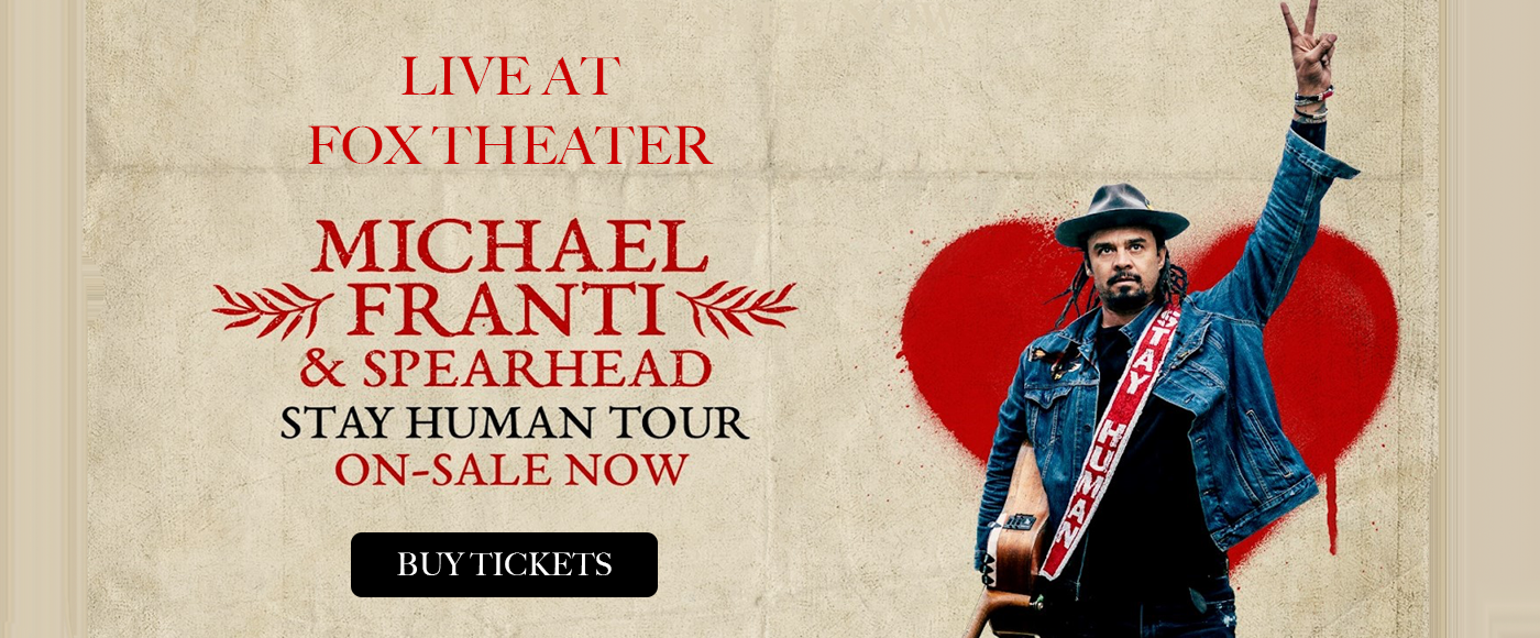 Michael Franti & Spearhead at Fox Theater Oakland
