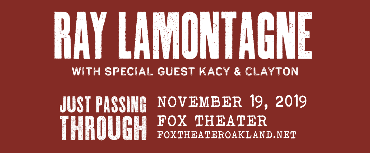 Ray LaMontagne at Fox Theater Oakland