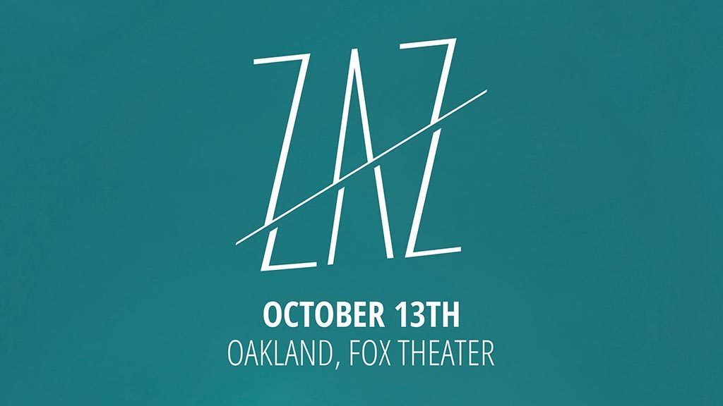 Zaz at Fox Theater Oakland
