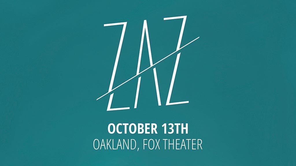 Zaz at Fox Theater Oakland