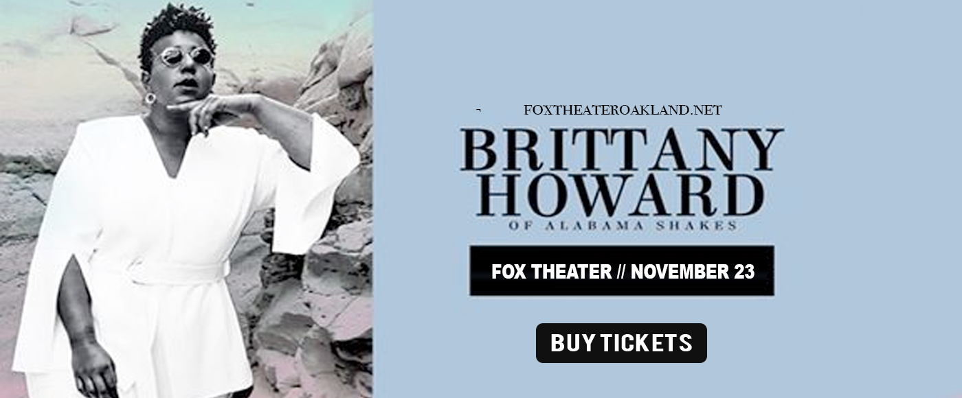 Brittany Howard at Fox Theater Oakland