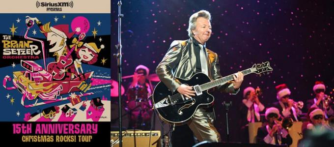 Brian Setzer Orchestra at Fox Theater Oakland
