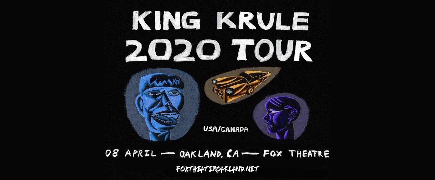 King Krule at Fox Theater Oakland